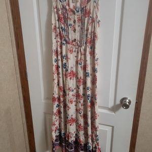 A new day maxi dress